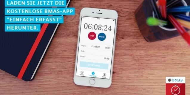 kostenlose App zur Zeiterfassung (Mindestlohn)